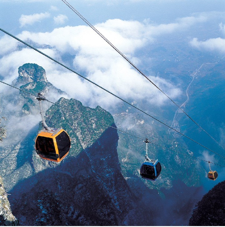 Six old mysteries of Tianmen Mountain in Zhangjiajie