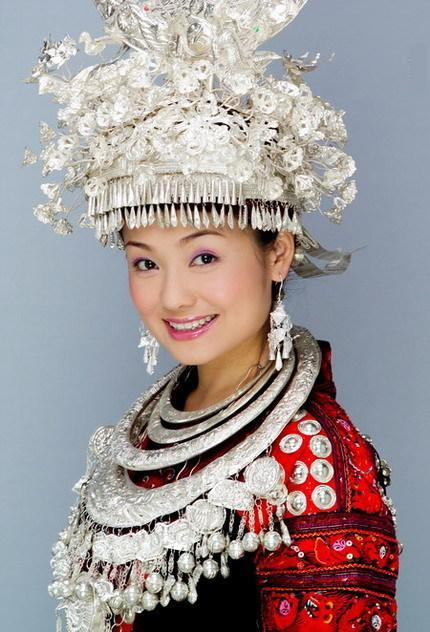 Silver Ornaments of Miao Nationality