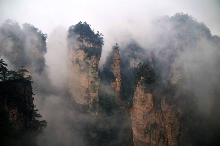 The Best Platforms in Tianzi Mountain