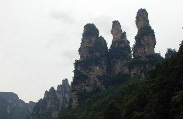 Story about Name of Zhangjiajie
