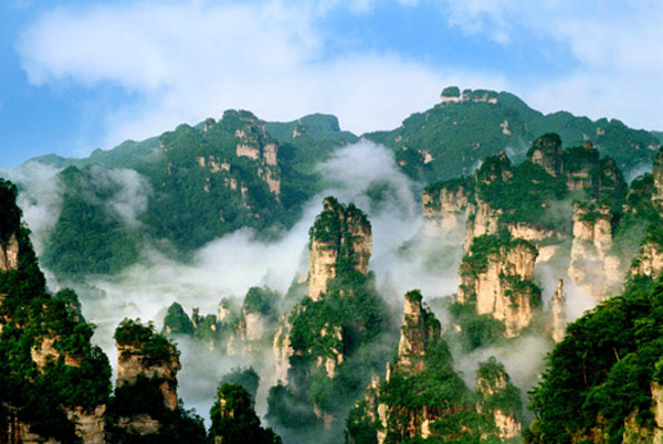 Yao Zizhai:Southeast of Zhangjiajie National Forest Park