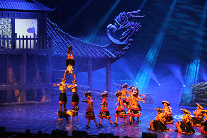 The Activities and Shows in Zhangjiajie