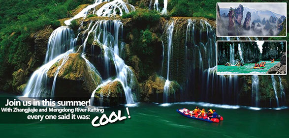 7-Day Classic Rafting Tour in Zhangjiajie & Mengdong River