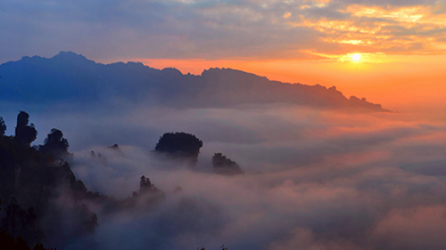 3-Day Economic Sunrise Tour in Zhangjiajie