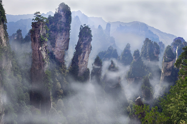 Zhangjiajie:Real Pandora World