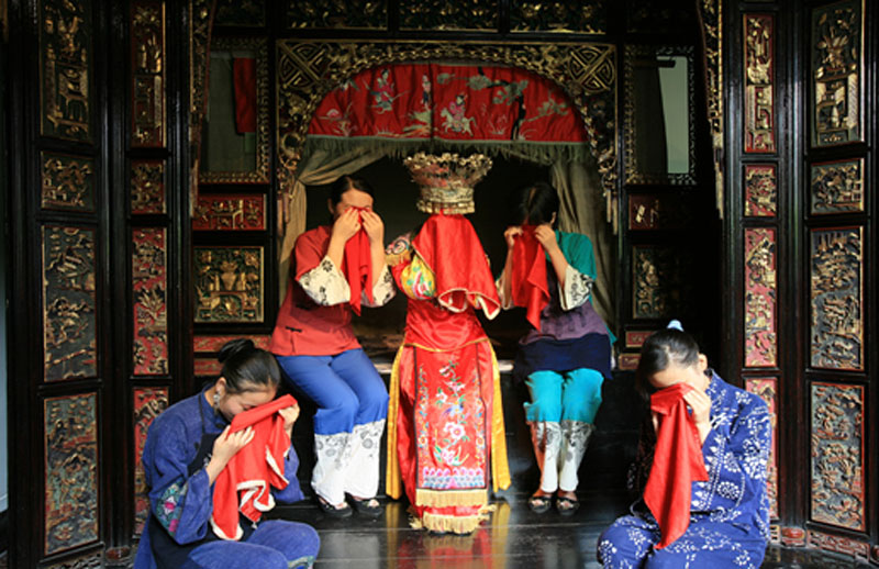 Zhangjiajie Tujia Custom of Crying Marriage