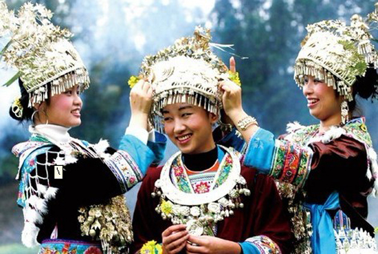 Silver Ornaments of the Miao Ethnic Group