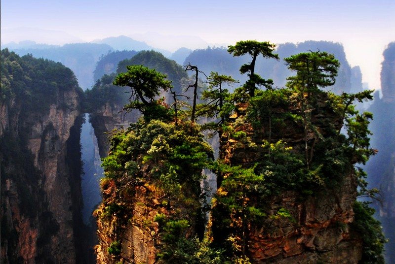 Zhangjiajie:Real Padora World