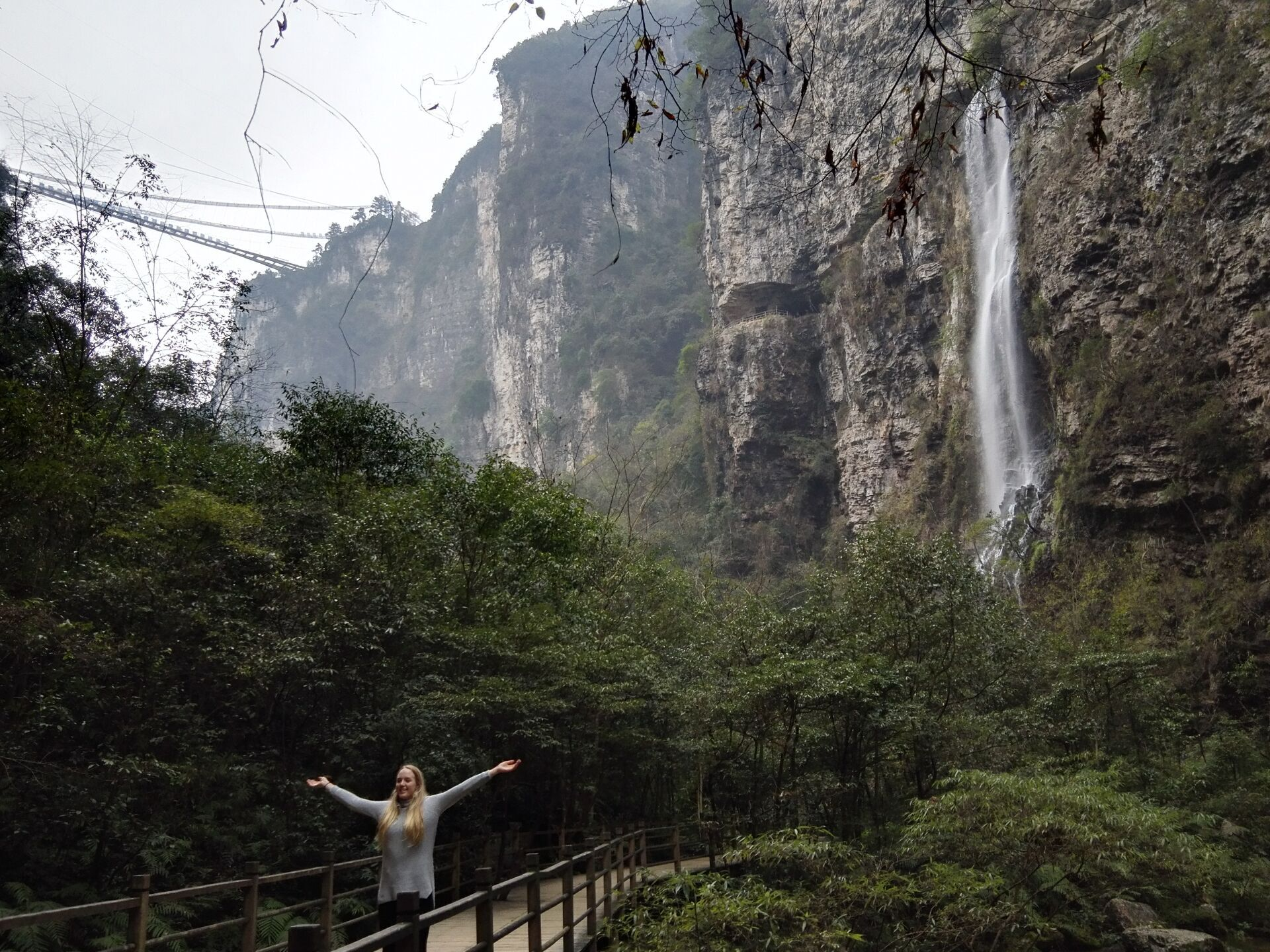 How to get to Zhangjiajie Grand Canyon from Zhangjiajie City
