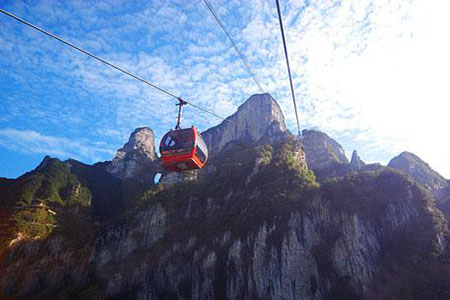 Zhangjiajie Travel Guide: Cablecars and Elevators