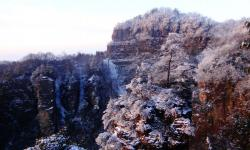 Zhangjiajie Winter Scenery