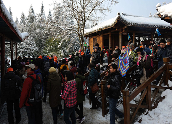 Hunan Witnesses Booming Outbound Tourism during Spring Festival