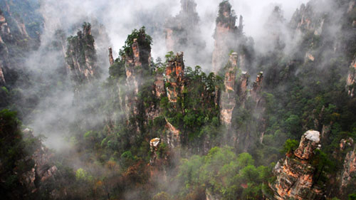 Zhangjiajie Top Attractions 5 Days Hiking Tour