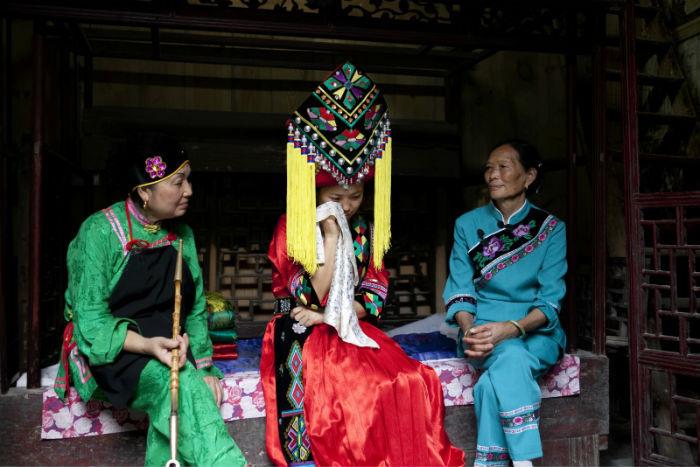 "Zhangjiajie Tujia Custom of Crying Marriage: ""Happy Crying ..."